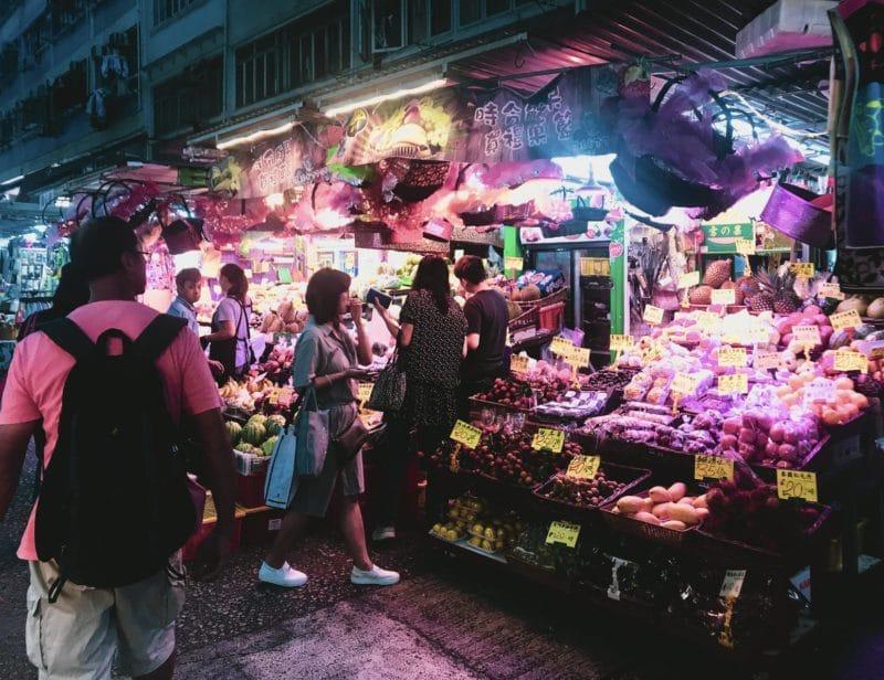 Walking street market, Chiang Mai