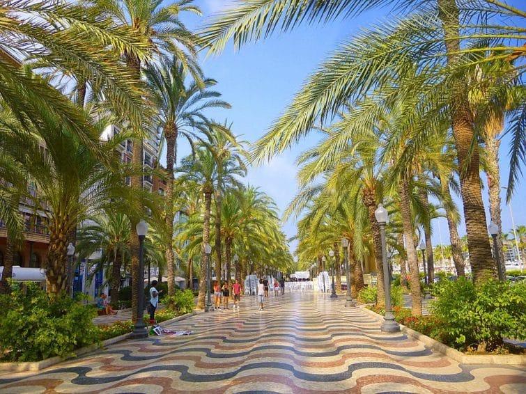 La Explanada de Espana, Alicante