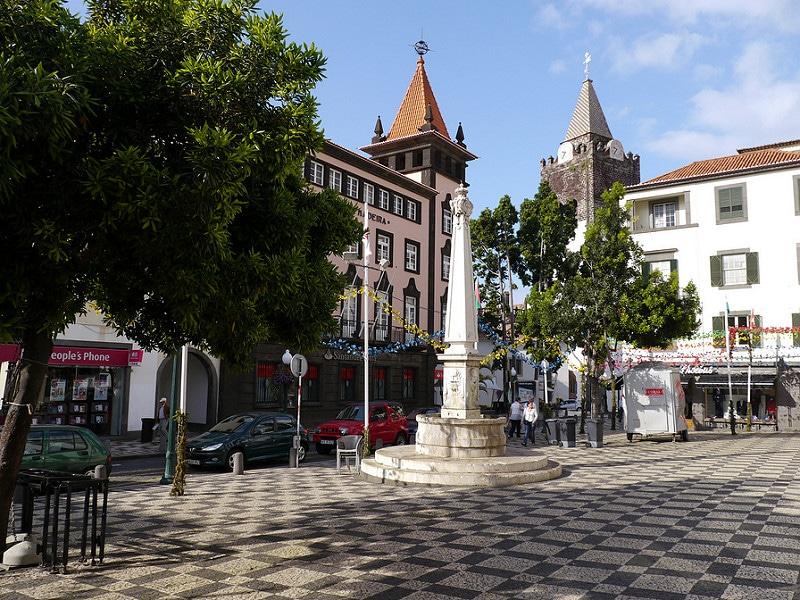 Quartier Funchal, Madère, Portugal