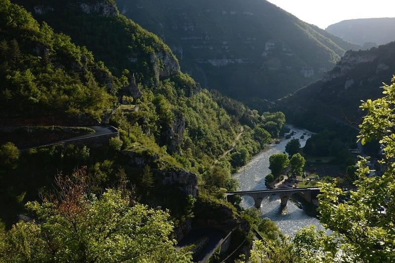 Les gorges du Tarn, canoë/kayak