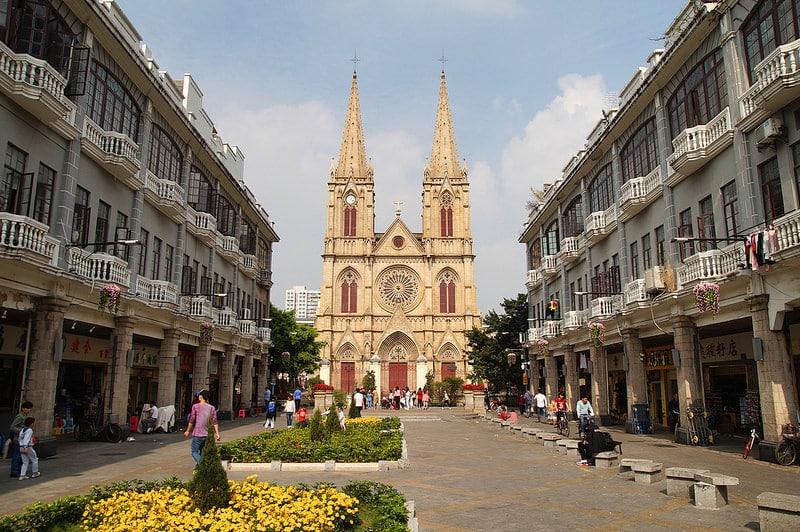 Île de Shamian, Guangzhou, Canton