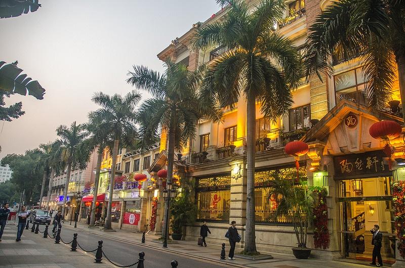 Île Shamian, Guangzhou, Chine