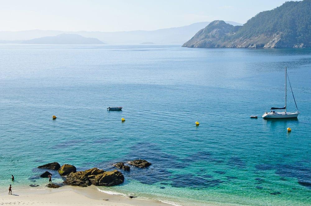 Les Îles Cies, Espagne