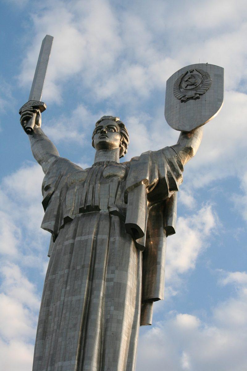 Statue de la Mère-Patrie à Kiev