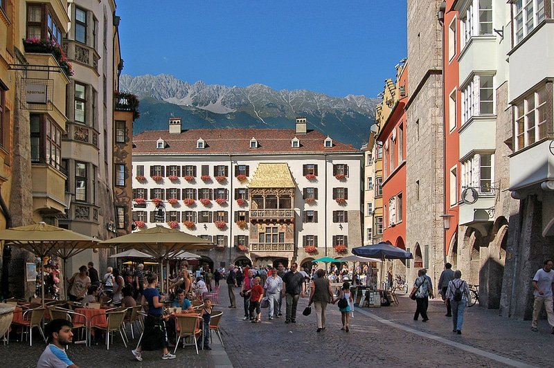 Le petit toit d'or, Innsbruck