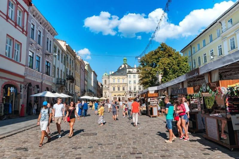 La Vieille Ville, Lviv, Ukraine