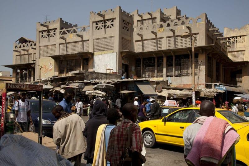 Marché Sandaga, Dakar-Plateau