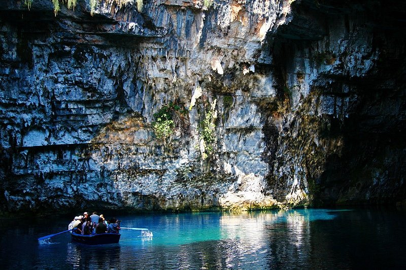 Grottes de Melissani, Céphalonie