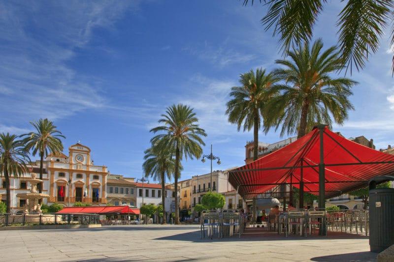 Centre ville de Mérida, Estrémadure, Espagne