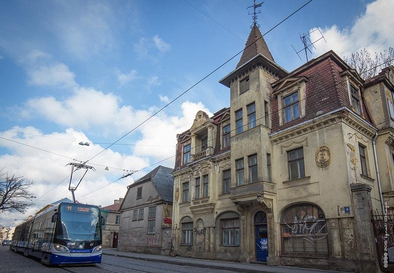 Miera Iela, loger à Riga