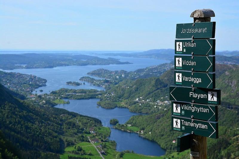 Mont Floyen, Bergen