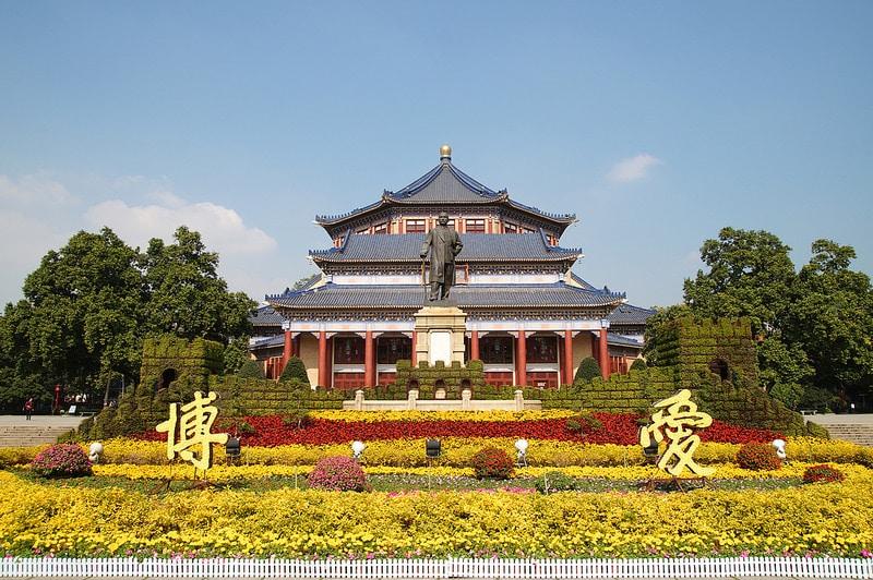 Mémorial Sun Yat-Sen, Guangzhou, Canton