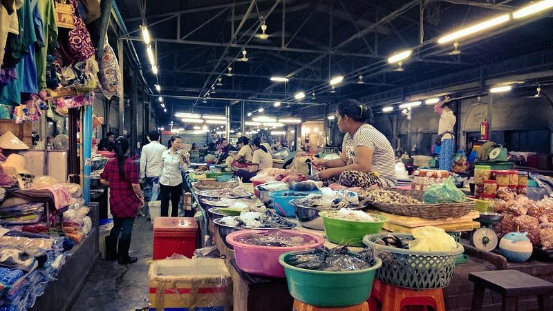 Night Market, Siem Reap