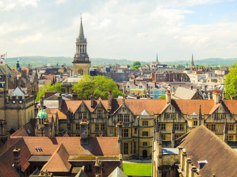 Centre ville d'Oxford