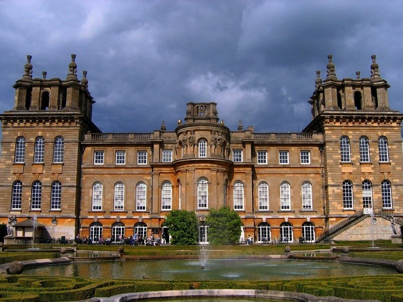 Palais de Blenheim à Oxford