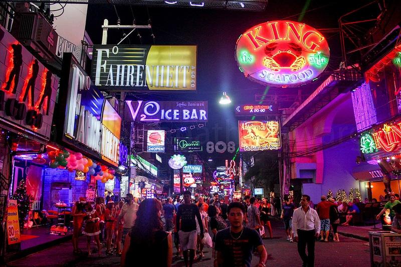 Centre-ville, Pattaya, Thaïlande