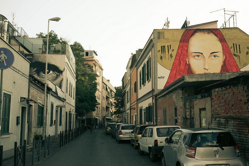 Pigneto, Street Art, Rome