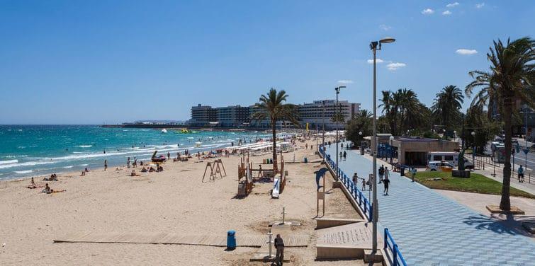 Plage Del Postiguet à Alicante