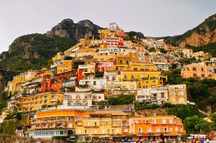 Centre ville, loger à Positano