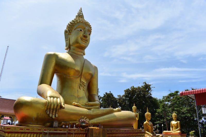 Big Golden Bouddha, Pratamnak Hill, Pattaya, Thaïlande