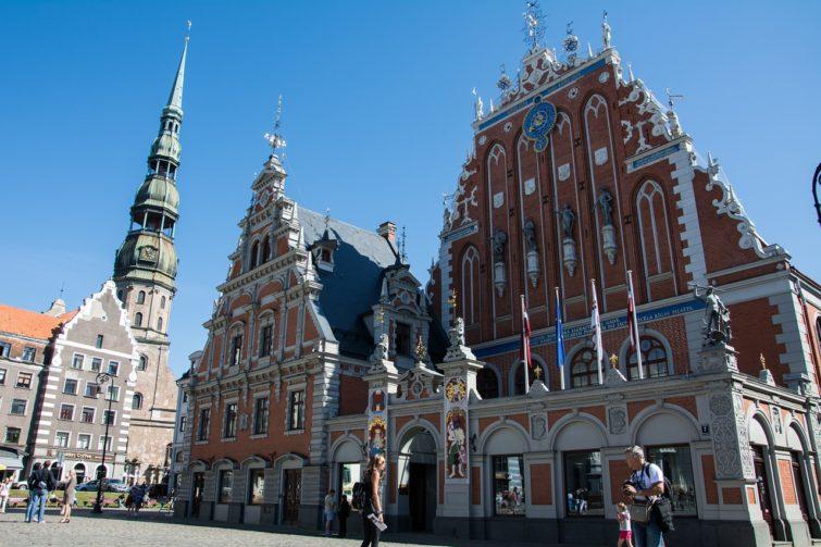 Vieille Ville, loger à Riga