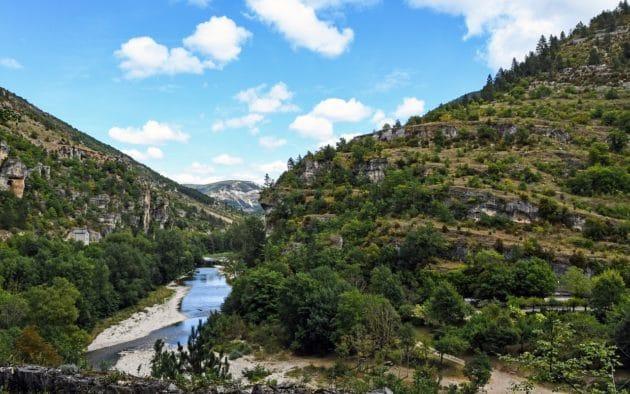 19 sites où faire du canoë-kayak dans les Gorges du Tarn