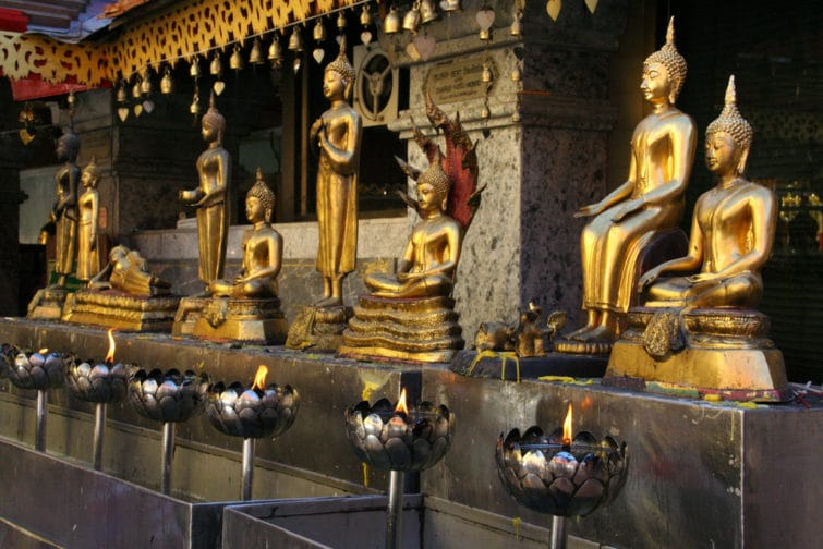 Temple du Doi Suthep, Thaïlande