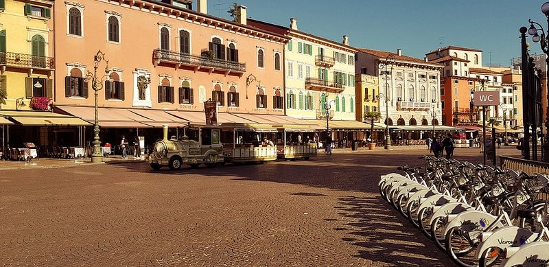 Vérone, parking gratuit