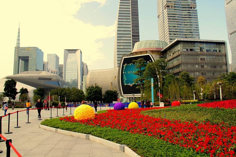 Zhujiang New Town, Guangzhou, Canton