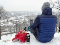 Vilnius panoramique Hills Randonnée en raquettes
