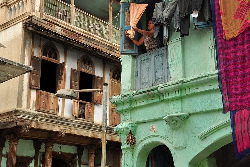 Centre historique, vieille ville, Ahmedabad