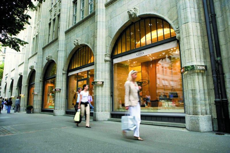 Shopping, Bahnhofstrasse, Zurich
