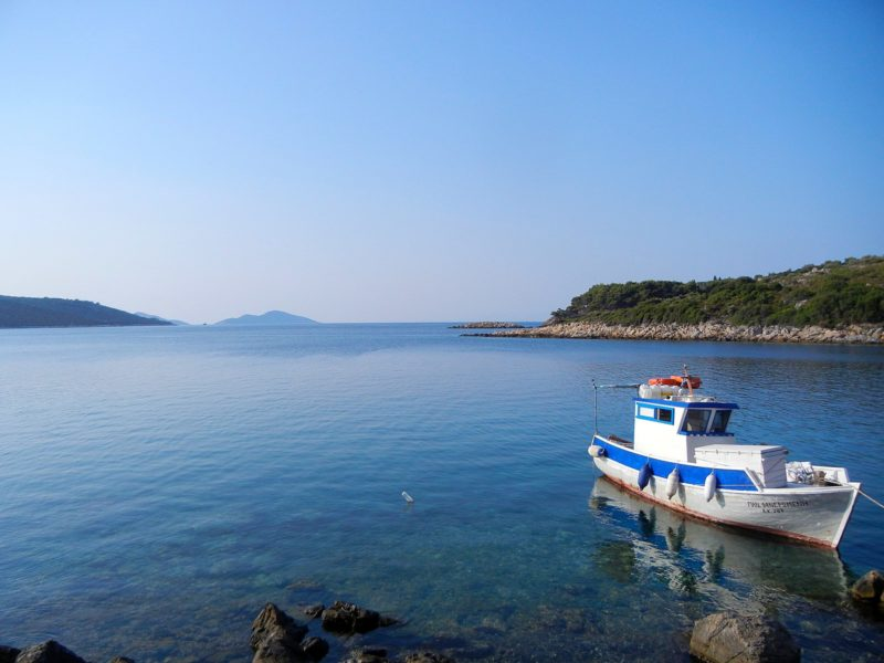 Balade en bateau, Alonissos, Grèce