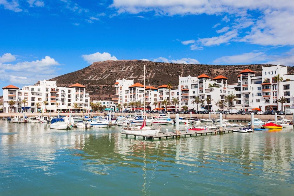 Balade en bateau à Agadir