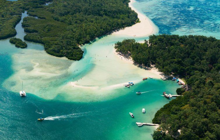 Visiter et louer un bateau à l'île Maurice