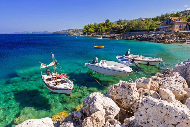 Visiter et louer un bateau à Zakynthos