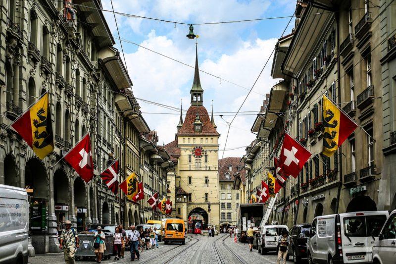Centre ville historique, Berne, Suisse