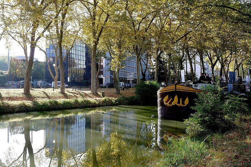 Péniche, Canal du Midi, Toulouse