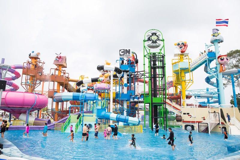 Parc aquatique Cartoon Network, Pattaya