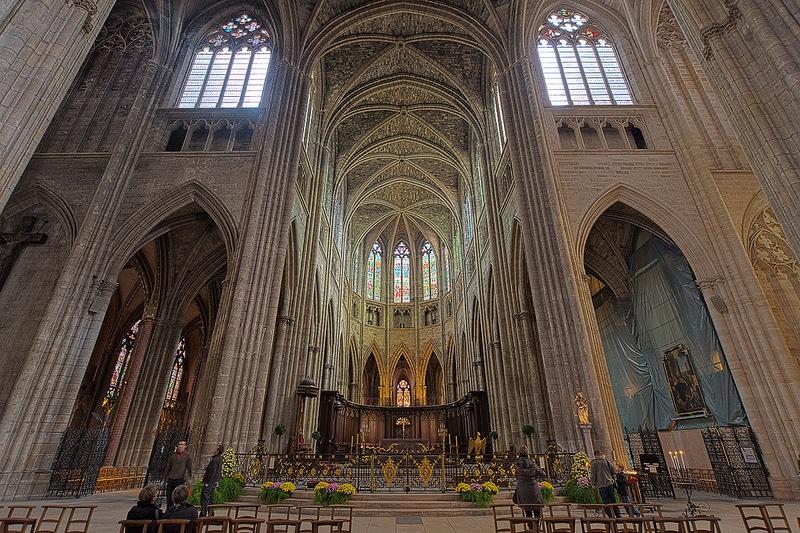 Intérieur de la Cathédrale Saint-André, Bordeaux