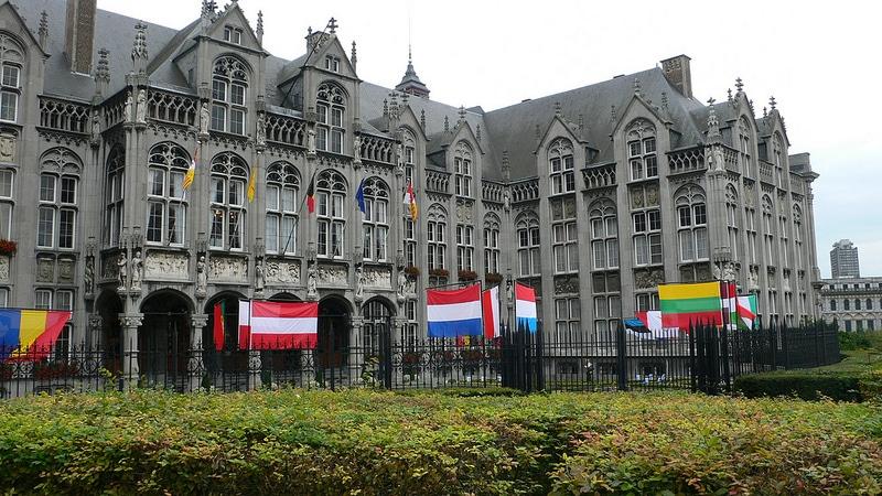 Palais des Princes Evêques, centre-ville, Liège