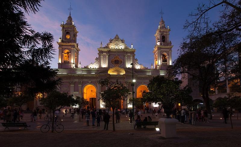 Basílica De Salta, centre-ville, Salta