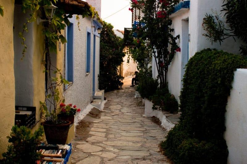 Chora, Alonissos, Grèce
