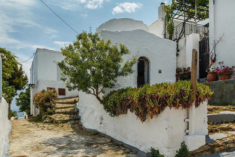 Chora, village, Skyros