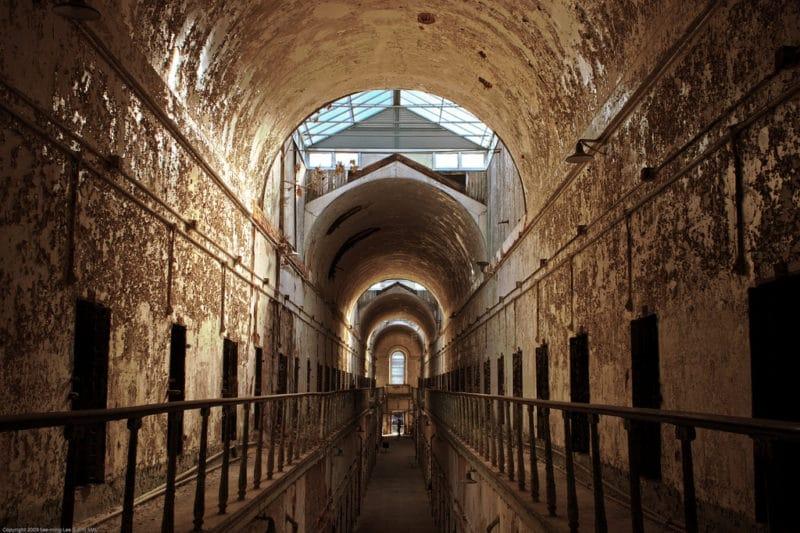 Prison Eastern State Penitentiary, Philadelphie