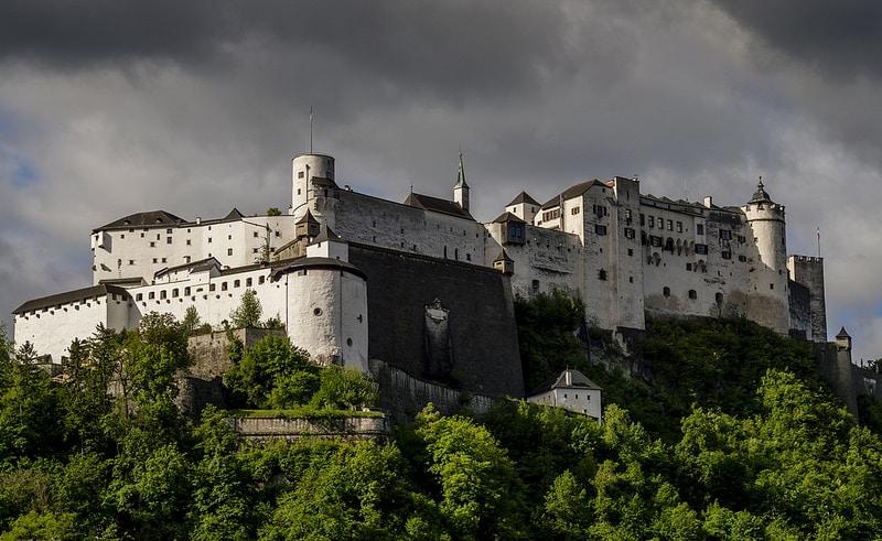 Forteresse de Hohensalzburg, Rive Gauche, Salzburg