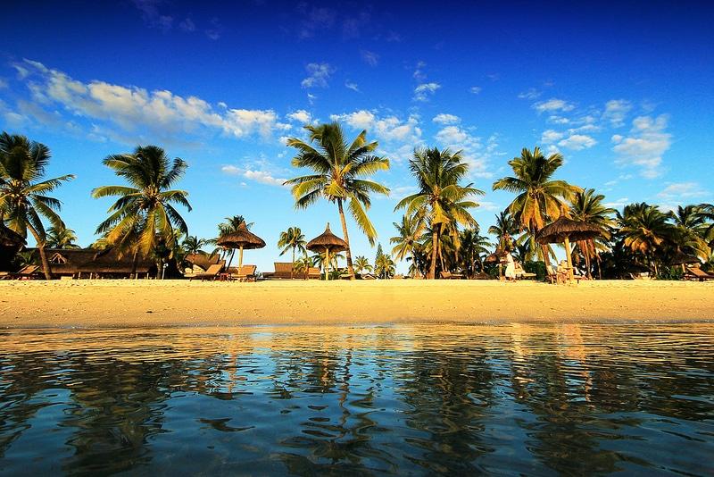 plage de Flic en Flac, Île Maurice