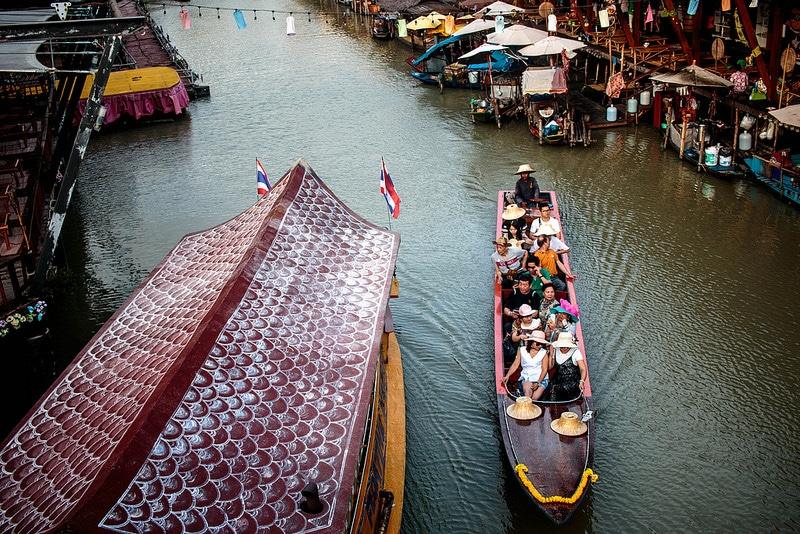 Marché flottant, Pattaya