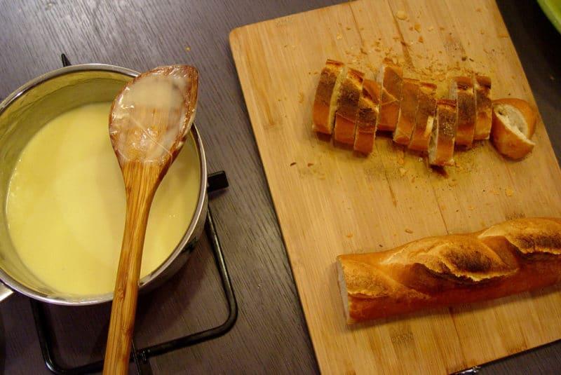 Fondue au fromage, Zurich