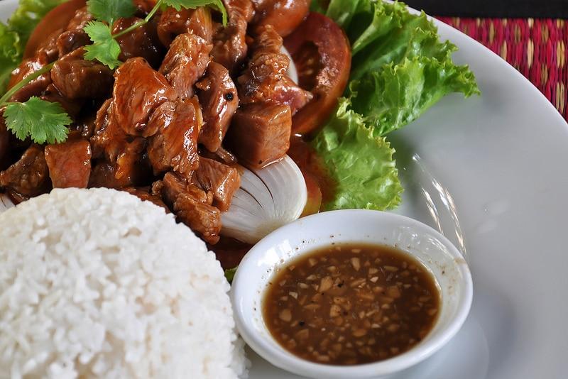 Manger à Siem Reap